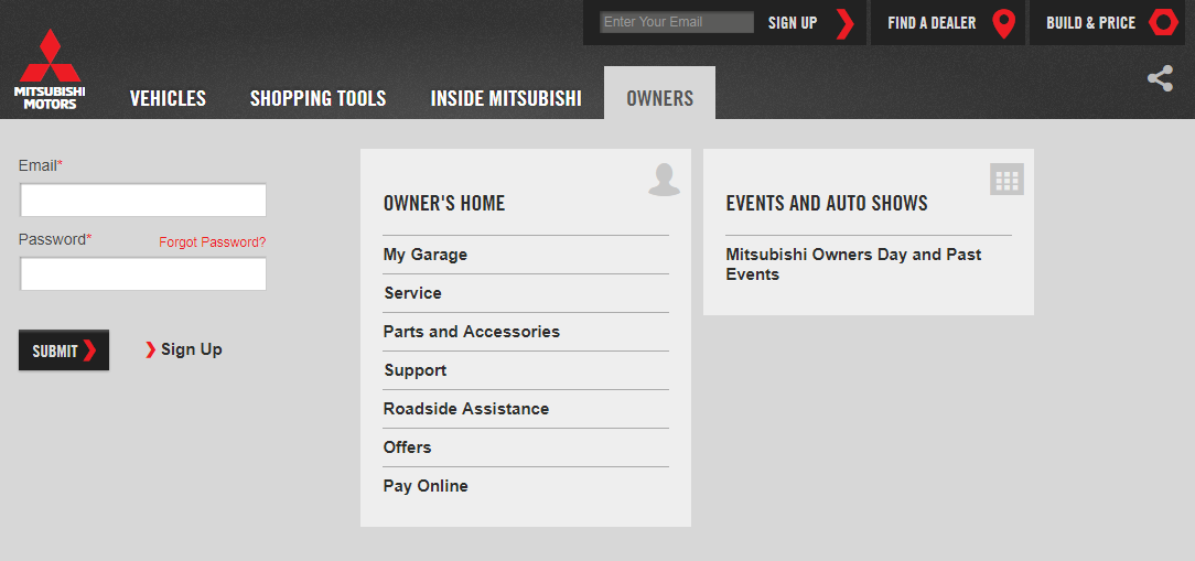 Auto Owners Login >> Mitsubishi Connect Owner S Manual